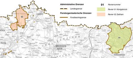 Naturschutzgebiete Konigsbrucker Heide Gohrischheide Und